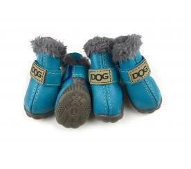Сапоги «Dog» цвет бирюзовый