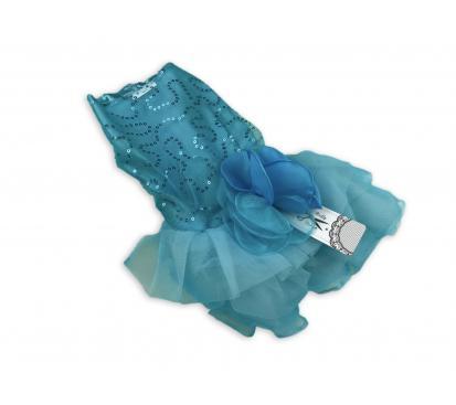 Платье «Rose» цвет бирюзовый