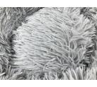 Лежанка «Плюшка» L цвет серый