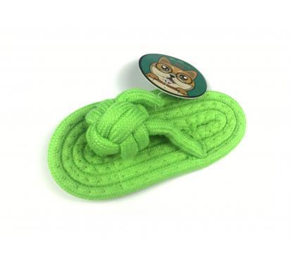 Игрушка « Сланец верёвочный » зелёный