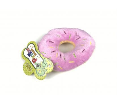 Игрушка « Пончик » цвет розовый