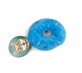 Игрушка « Пончик » цвет голубой