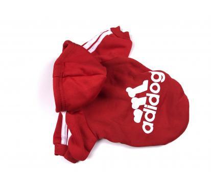 Толстовка «Adidog» цвет красный