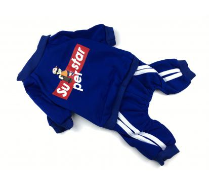 Костюм «Superstar» цвет синий