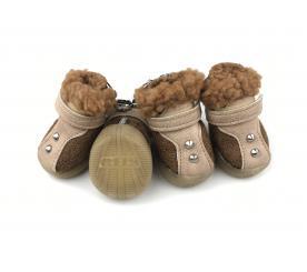 Сапоги «Модные» цвет коричневый