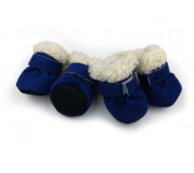 Угги «Зима» цвет синий