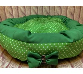 Лежанка «Моник» цвет зелёный