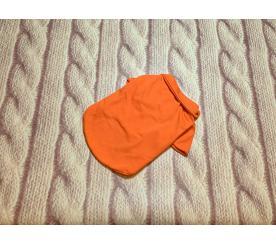 Футболка поло цвет оранжевый
