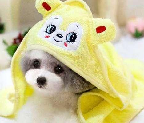 Полотенце для собак, впитывающее влагу